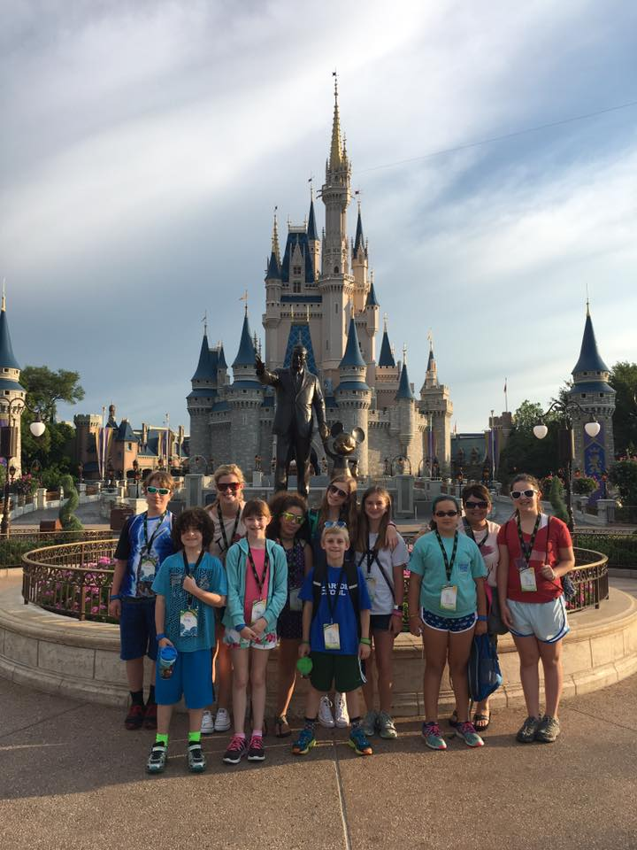 Clariden at Disney 2016